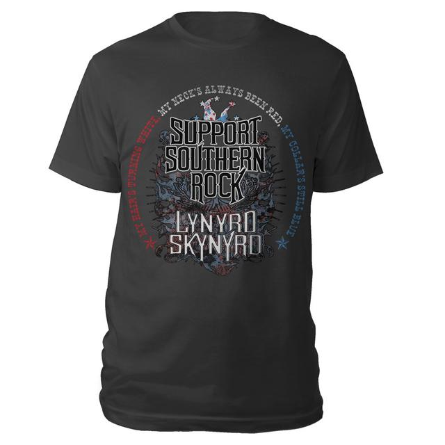 Lynyrd Skynyrd Blue Collar Red Neck Tee