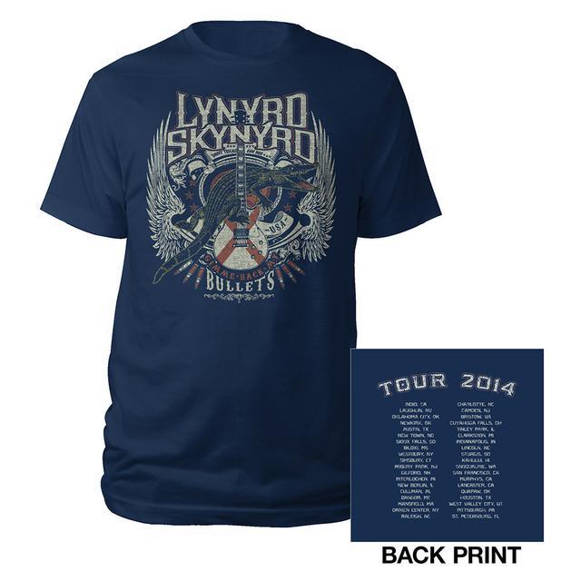 Lynyrd Skynyrd 2014 Tour Tee