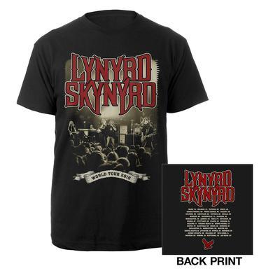 Lynyrd Skynyrd 2015 World Tour Tee