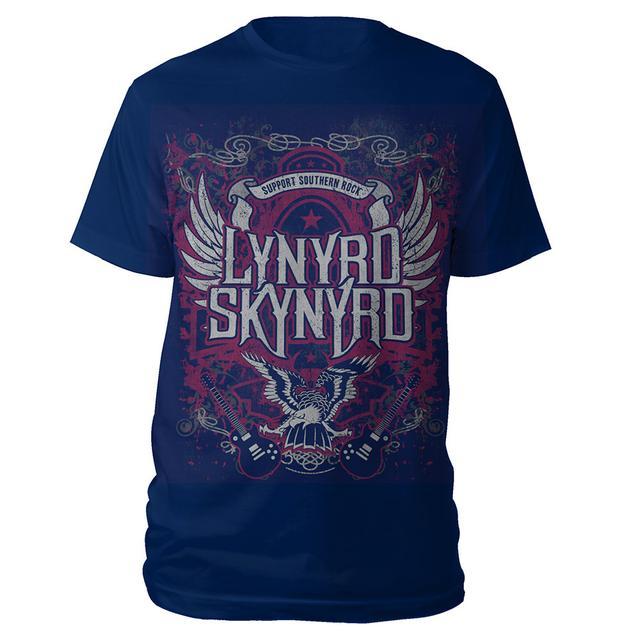 Lynyrd Skynyrd Support Southern Rock Tee