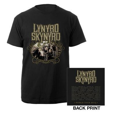 Lynyrd Skynyrd Band Photo 2015 World Tour Tee