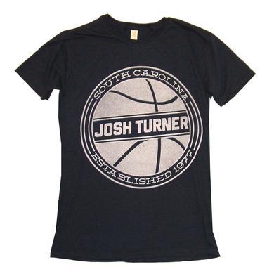 Josh Turner Ladies Navy Basketball Tee