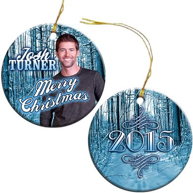 Josh Turner 2015 Christmas Ornament