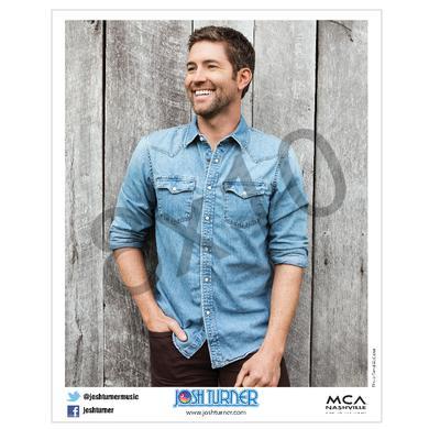 Josh Turner 8x10- Denim Shirt