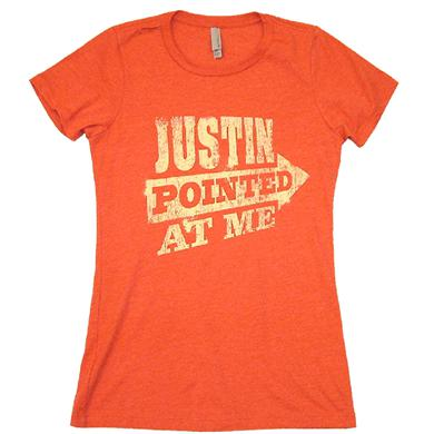 Justin Moore Ladies Heather Red Tee
