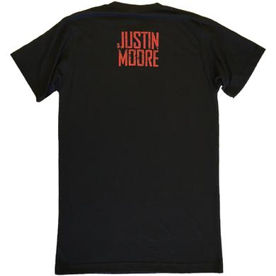 Justin Moore Black Kinda Don't Care Tee