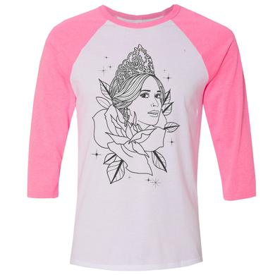 Kacey Musgraves Pink Pageant Baseball Tee
