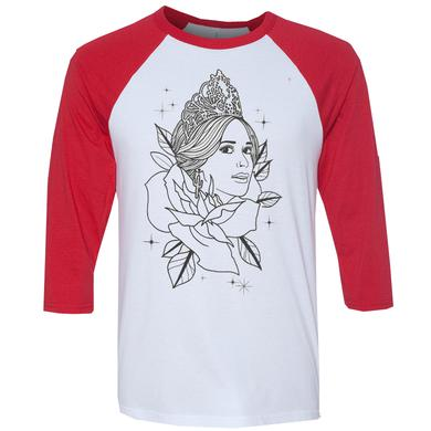 Kacey Musgraves Red Pageant Baseball Tee