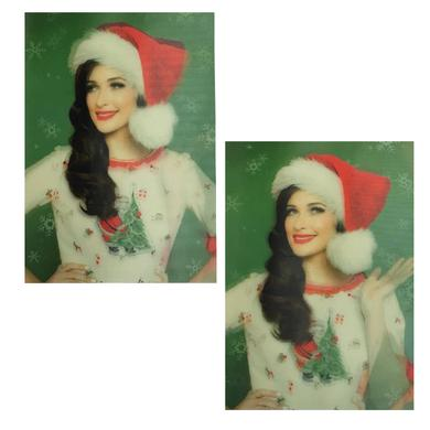 Kacey Musgraves Animated Christmas Postcard