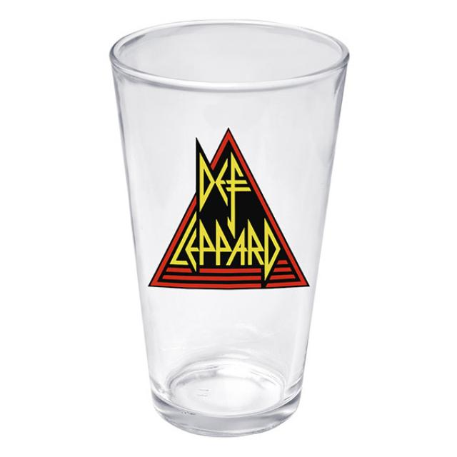 Def Leppard Pint Glass