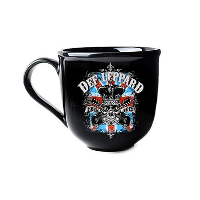 Def Leppard Soup Mug