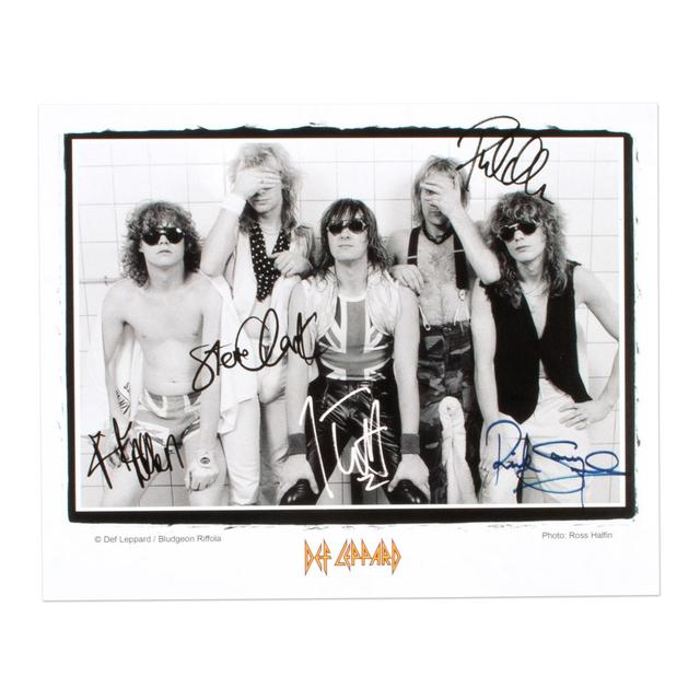 Def Leppard Band Photo II