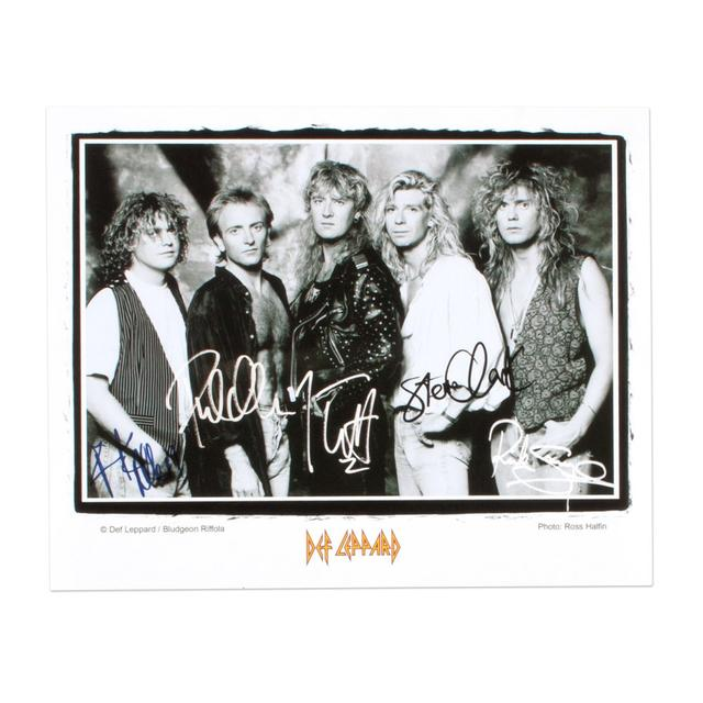 Def Leppard Band Photo I