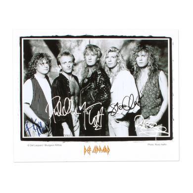 Def Leppard Band Photo I