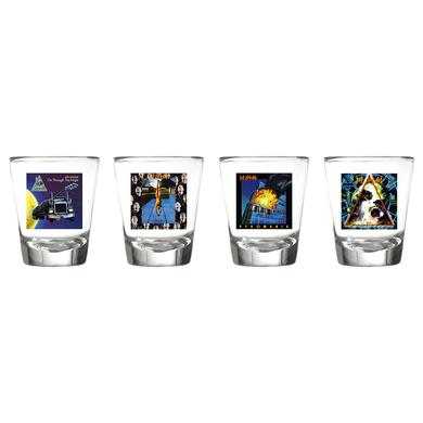 Def Leppard Album Art Four Piece Shot Glass Set