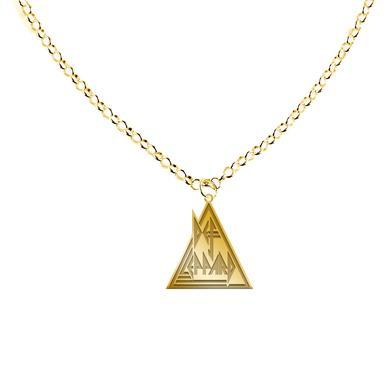 Def Leppard Triangle Logo Necklace