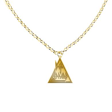Def Leppard Triangle Logo Necklace