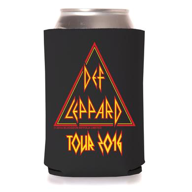 Def Leppard Triangle Logo Tour 2016 Coozie