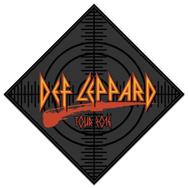 Def Leppard Target Tour 2016 Bandana