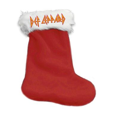 Def Leppard Logo Holiday Stocking