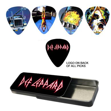 Def Leppard Album Art Guitar Pick Set