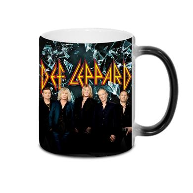 Def Leppard Shattered Heat Reveal Mug