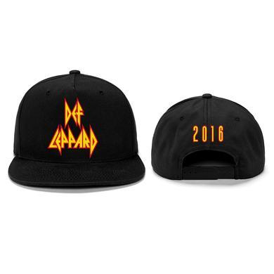 Def Leppard Classic Logo Tour 2016 Hat