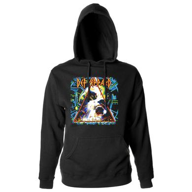 Def Leppard Hysteria Album Pullover Hoodie