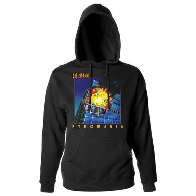 Def Leppard Pyromania Album Pullover Hoodie