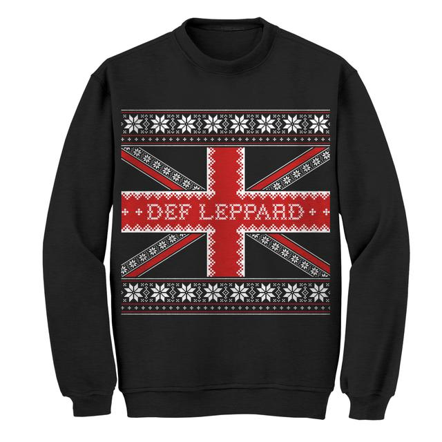 Def Leppard Ugly Christmas Crewneck Sweat