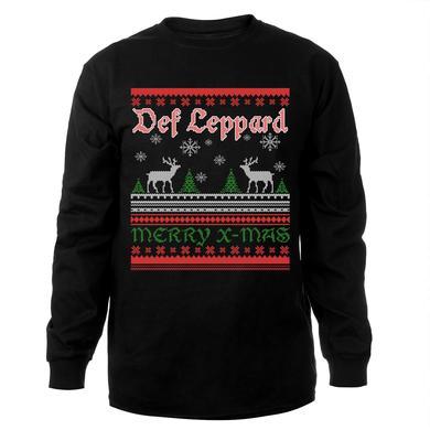 Def Leppard Merry X-Mas Crewneck Sweat