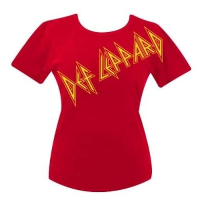 Def Leppard All Over Babydoll Tee