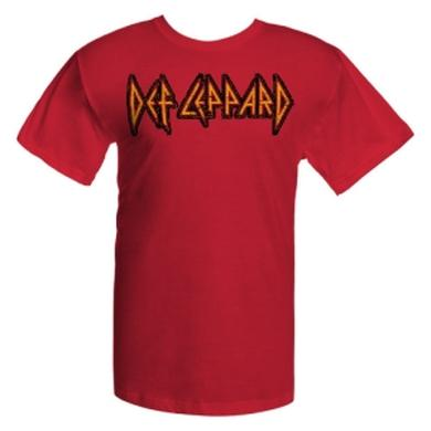 Def Leppard Ultra Soft - Stitched Print Logo Tee