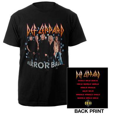 Def Leppard Mirror Ball Tour Tee
