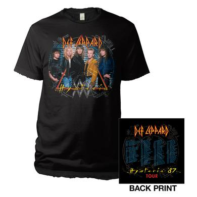 Def Leppard Vintage '87 Hysteria Tour Tee