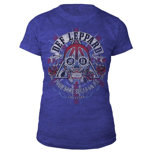 Def Leppard Las Vegas Event Ladies Tee
