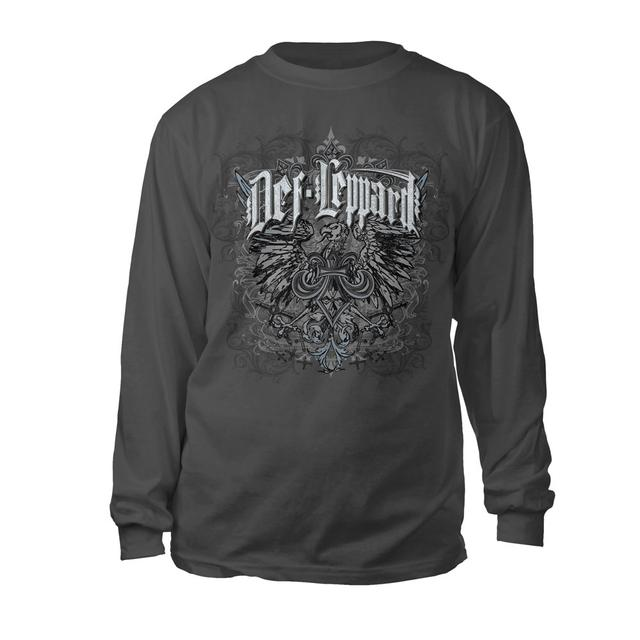 Def Leppard Eagle Crest Long Sleeve Tee