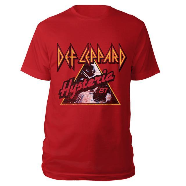 Def Leppard Hysteria '87 Tee