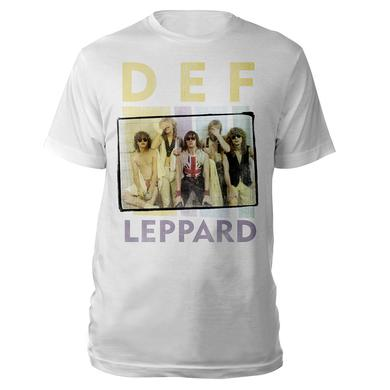 Def Leppard Band Photo Tee