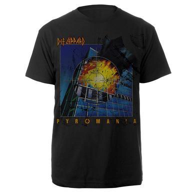 Def Leppard Classic Pyromania Tee