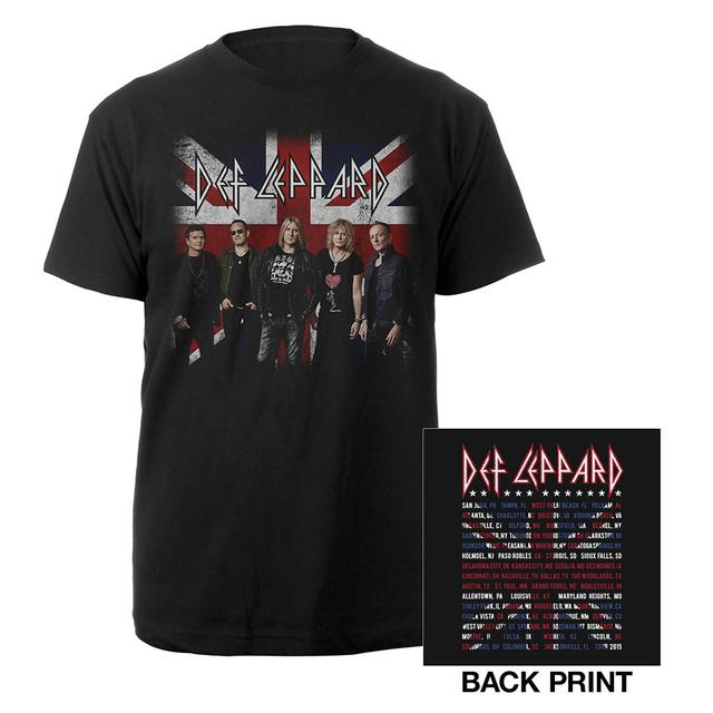 Def Leppard Band Photo Tour 2015 Tee
