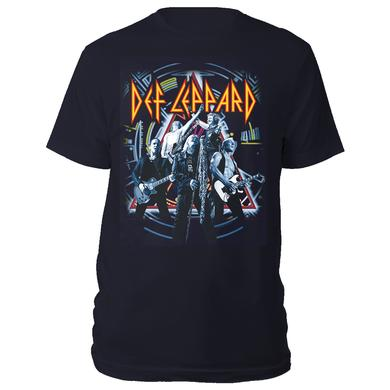 Def Leppard Action Shot Tee