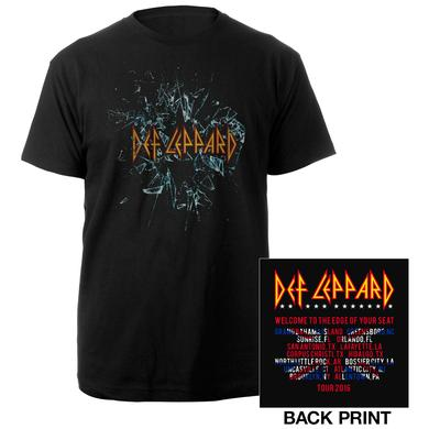 Def Leppard Self-Titled Album Tour 2016 Tee