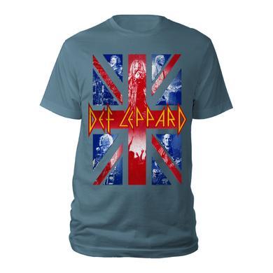Def Leppard Union Jack Live Shots Tee