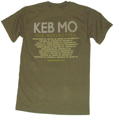 Keb Mo Olive Tee- Album Cover