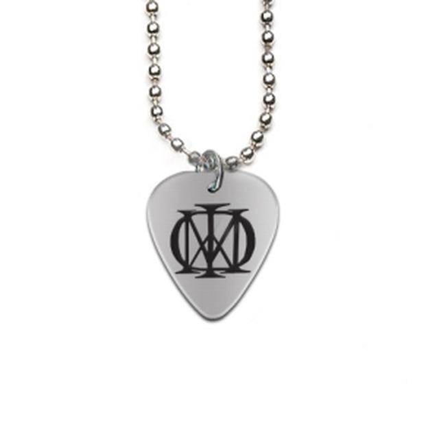 Dream Theater Metal Guitar Pick Necklace