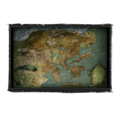 Dream Theater Map of the Great Northern Empire of the Americas Blanket