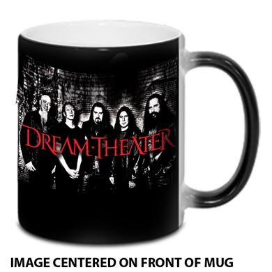 Dream Theater Band Photo Heat Reveal Mug