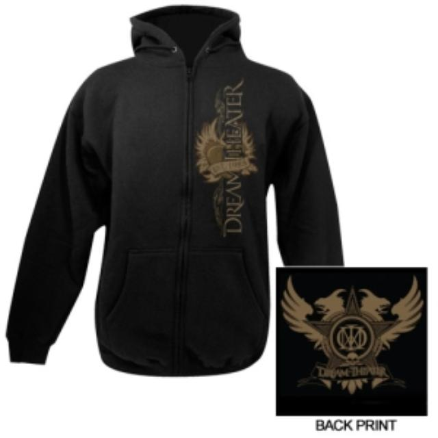 Dream Theater Tattoo Heart Zip-Up Hoodie