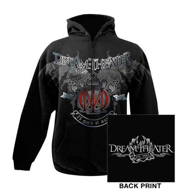 Dream Theater 25th Anniversary Zip-Up Hoodie